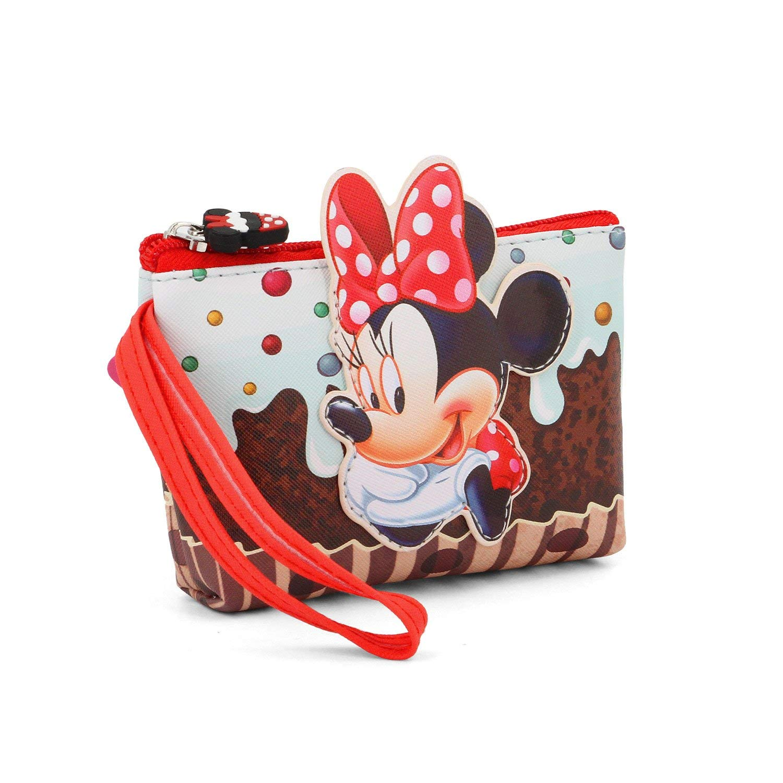95598ec300 37310 - Borsellini / Portafogli 1 - the cartoon world - Astuccio Borsellino  Porta Monete Disney MINNIE