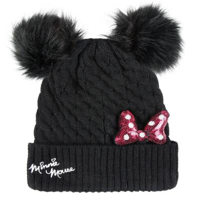 2200003223 - CAPPELLI   SCIARPE   GUANTI - the cartoon world - CAPPELLO Con  PON PON - DISNEY MINNIE f0018cebf344