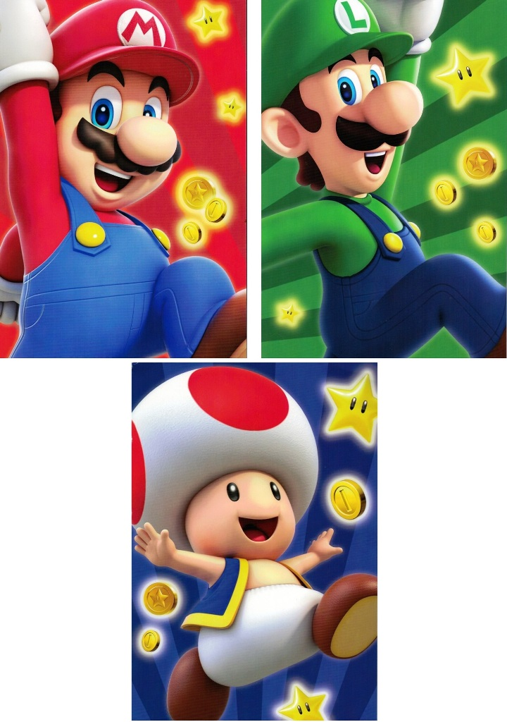 Super Mario Bros Astuccio Scuola Tombolino