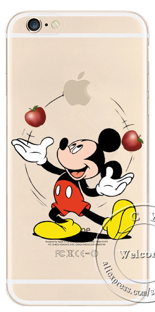 custodia iphone 6 topolino