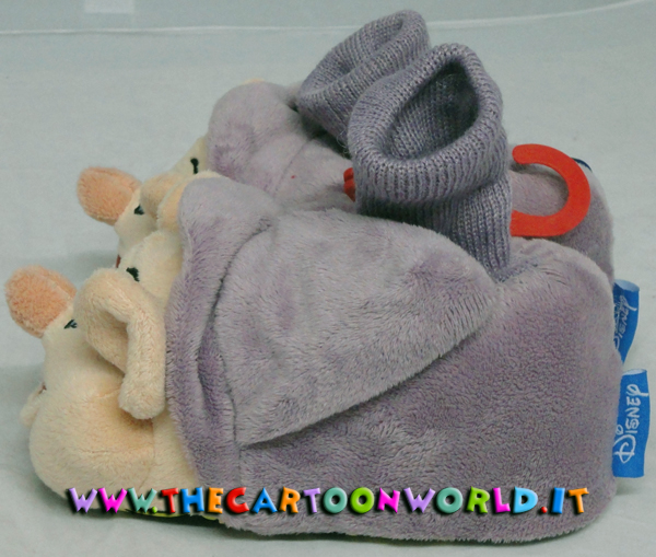 low priced 67a52 1701a PANTOFOLE CHIUSE in PELUCHE DISNEY 7 NANI - BRONTOLO nr 22/24