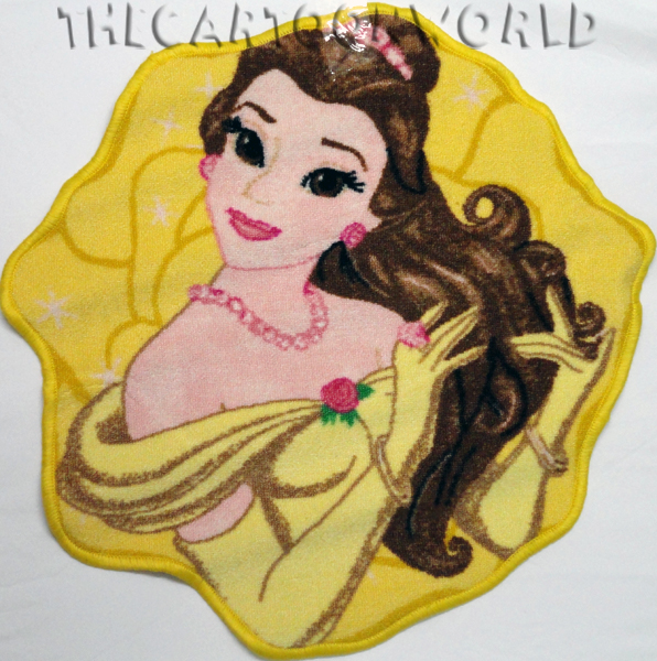 CARPET CONTOURED, non-Slip DISNEY Princesses - BEAUTIFUL, BEAUTIFUL 67x67 cm