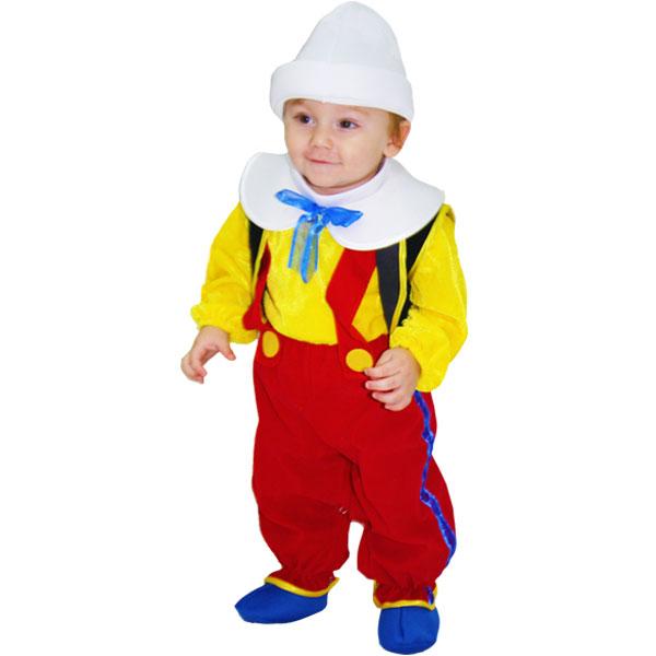 Vestito Costume Maschera Di Carnevale Neonato Pinocchio Ebay