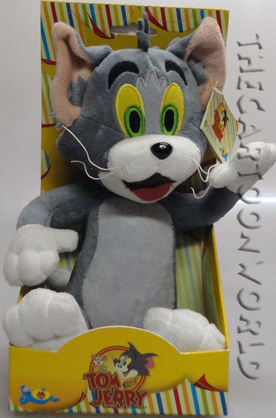 PELUCHE DISNEY - LOONEY TUNES - Tom e Jerry - TOM - 22 cm
