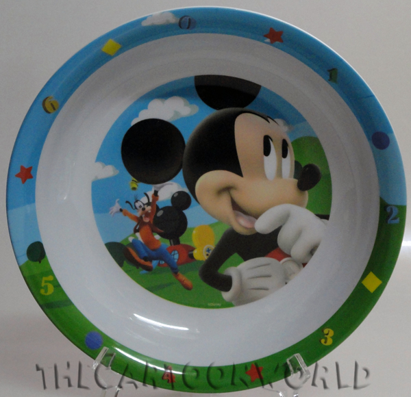 SET PAPPA Piatto Fondo in Melanina DISNEY TOPOLINO Mickey