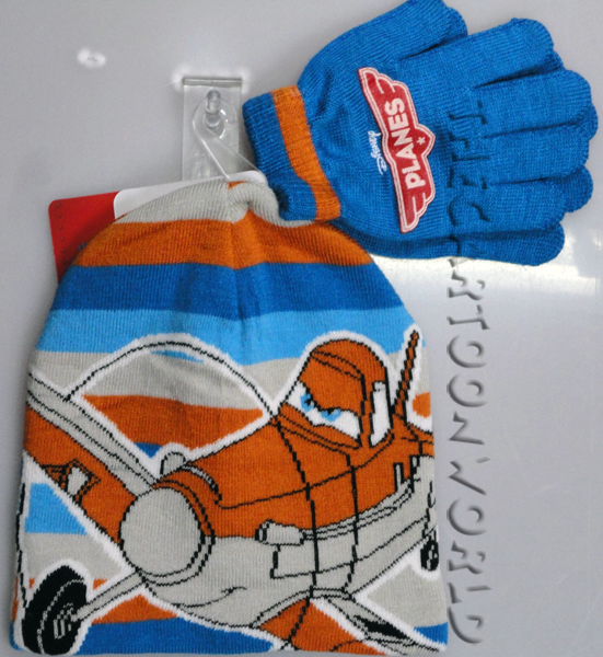 Fantastic Set of HAT and GLOVES - DISNEY - PLANES