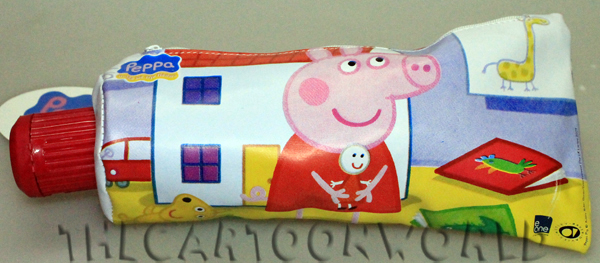 Pencil CASE Tombolino SCHOOL in the Form of a Tube, DISNEY PEPPA PIG