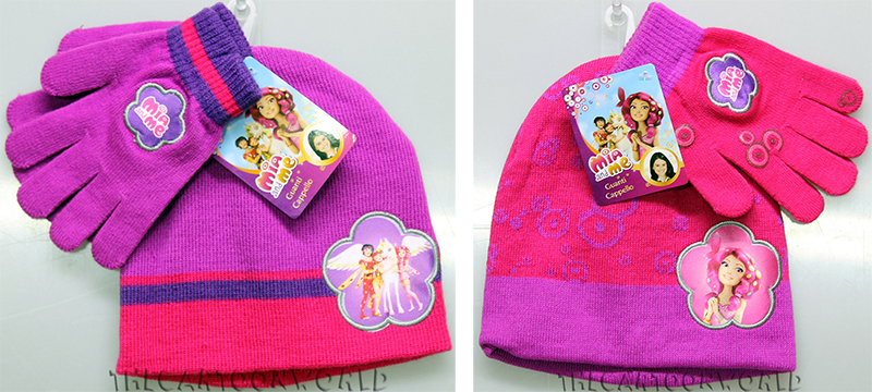Fantastico Set CAPPELLO e Guanti DISNEY MIA and ME