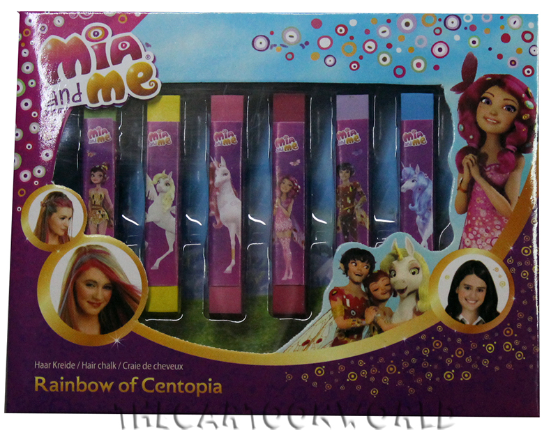 Fantastico SET COSMETICI TRUCCO per Colorare i Capelli DISNEY MIA and ME