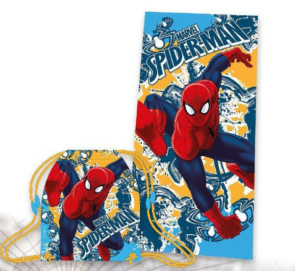 TELO MARE / Piscina Con Sacca DISNEY Marvel SPIDERMAN