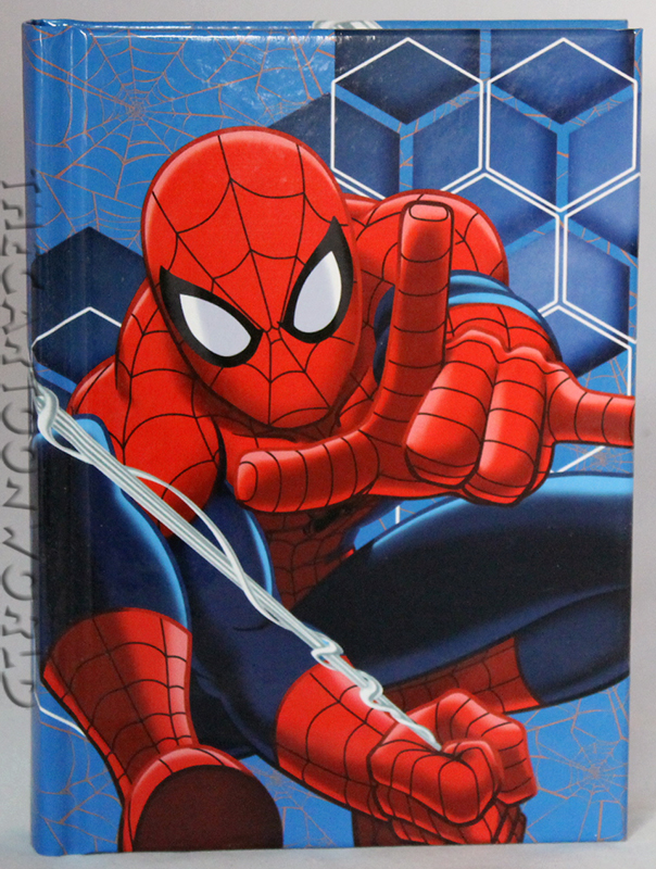 DIARIO AGENDA SCUOLA DISNEY - MARVEL SPIDERMAN