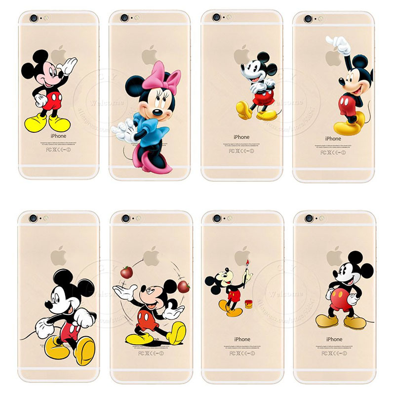 custodia iphone 8 plus topolino