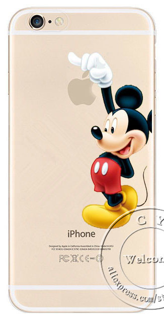 custodia iphone 6 personaggi