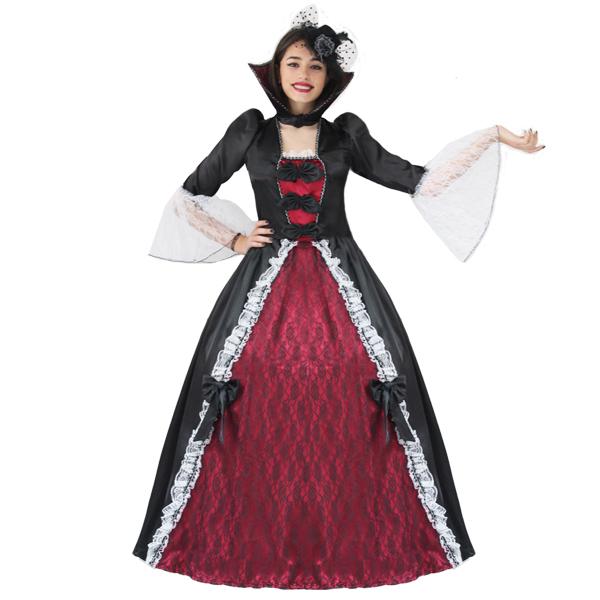 Costumi Halloween Adulti.Dettagli Su Vestito Costume Maschera Di Carnevale Halloween Adulti Principessa Vampiria
