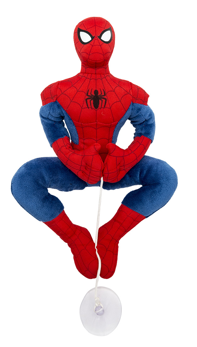 PELUCHE con Ventosa DISNEY MARVEL SPIDERMAN 25 cm