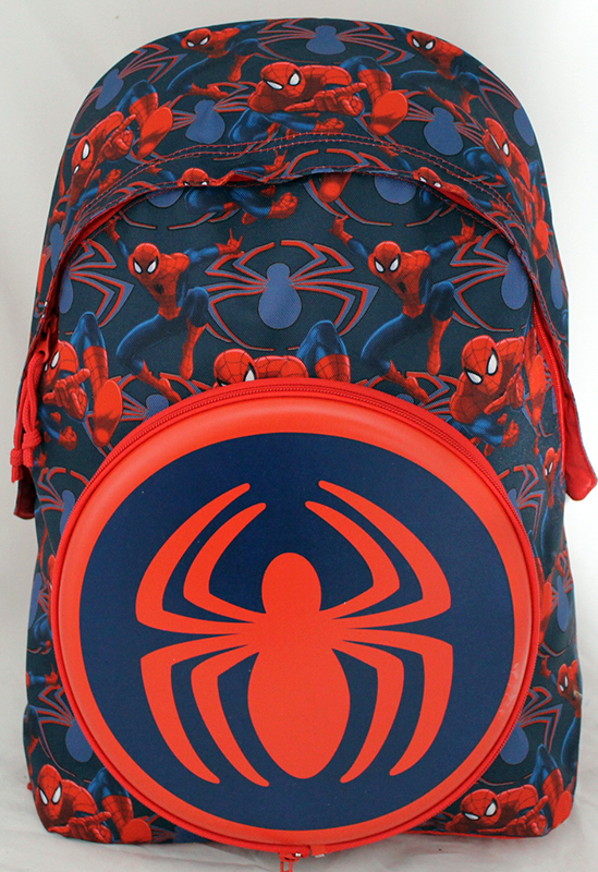 BACKPACK Folder - School and Leisure Time DISNEY - MARVEL - SPIDERMAN with FREESBY