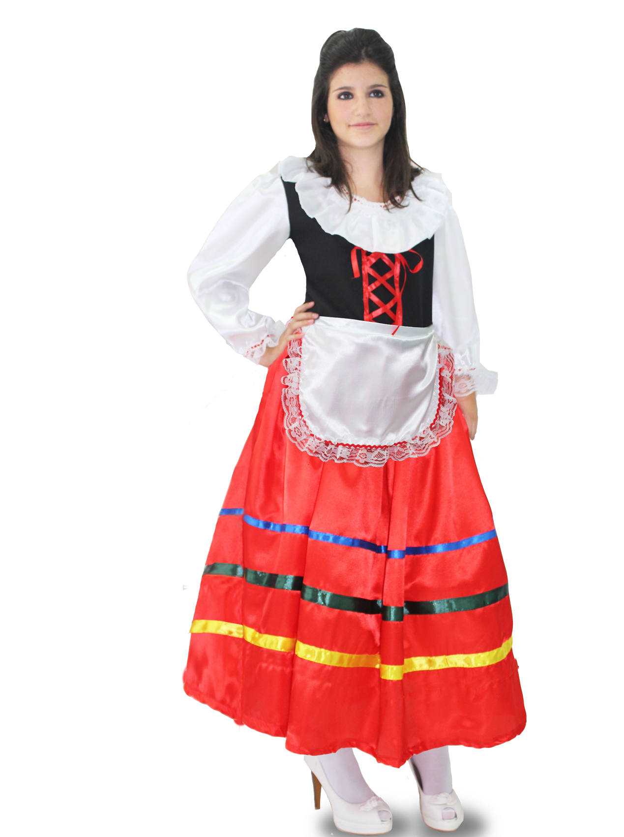 Details About Costume Dress Carnival Mask Tarantella Long Woman Adult Show Original Title