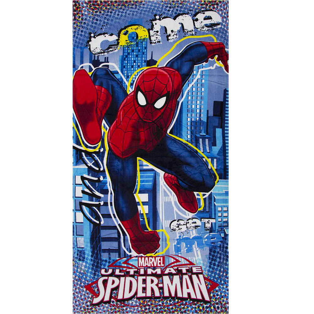 TELO MARE / Piscina DISNEY - MARVEL - SPIDERMAN - 70 x 140 cm