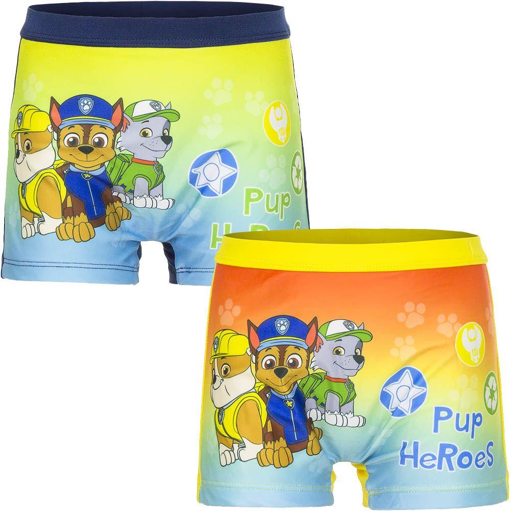 COSTUME for the beach / Pool PAW PATROL - SIZES 6 - 9 - 12 - 18 - 24 months