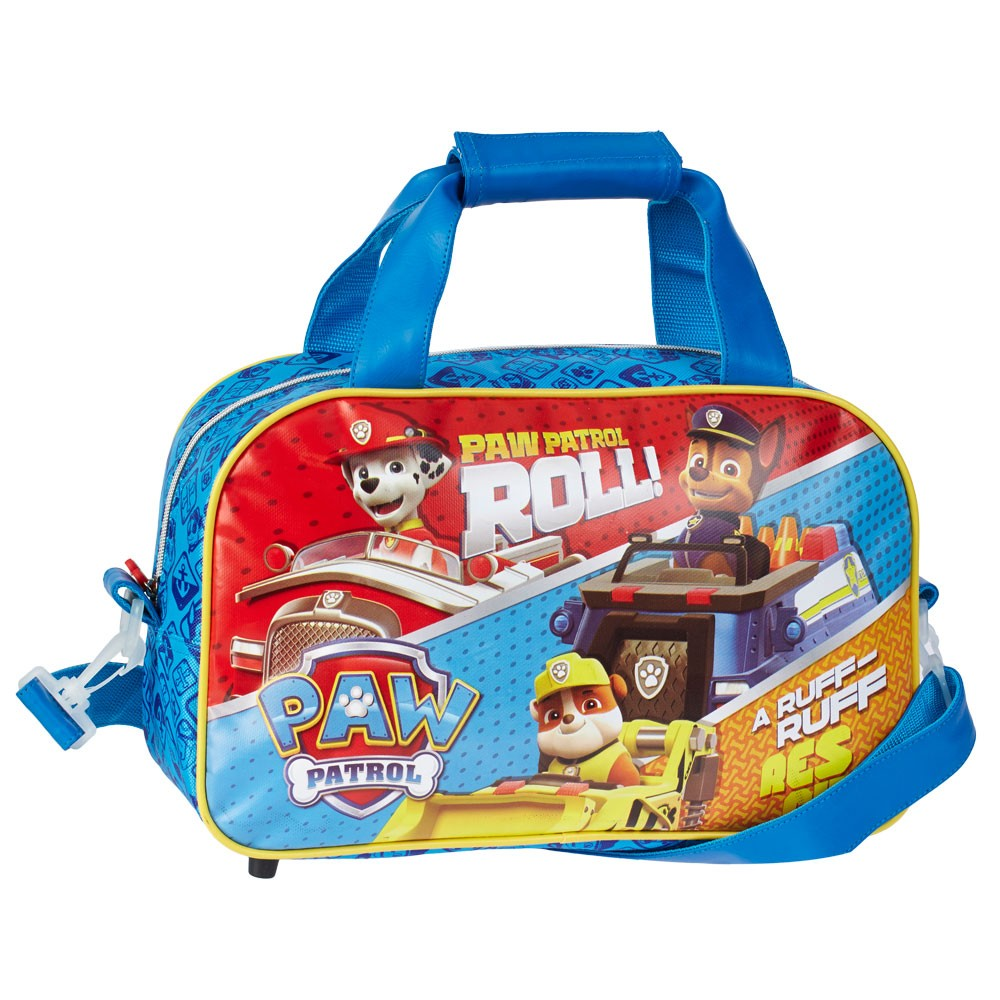 BAG DUFFEL bag with shoulder Strap from a Gym - PAW PATROL