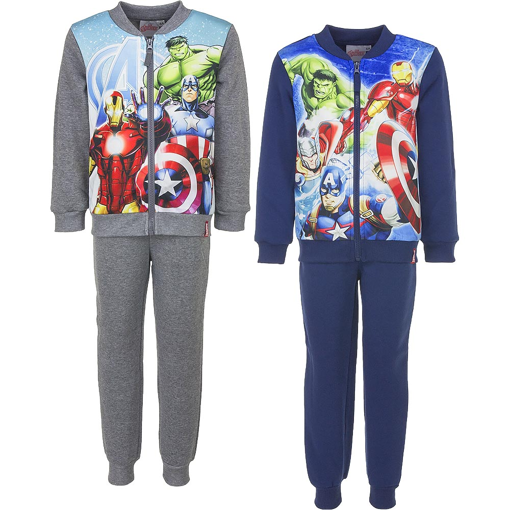 Marvel Bambini e Ragazzi Spiderman Tuta da Ginnastica//Jogging Set Blu
