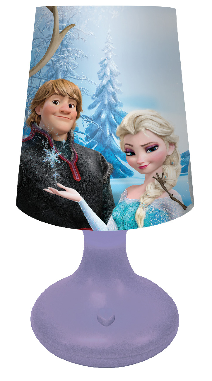 LAMPADA a LED DISNEY FROZEN - con Batteria e Pulsante On/Off