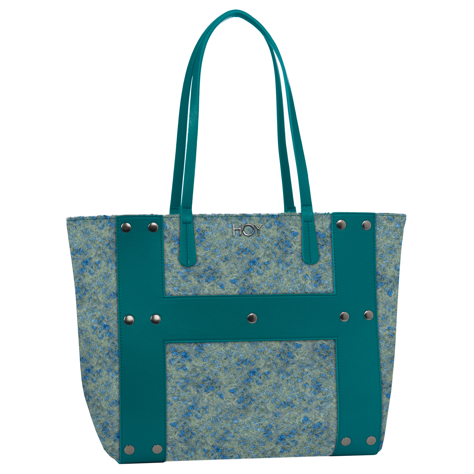 BORSA A SPALLA Fashion bag reversibile - HOY BOUCLE