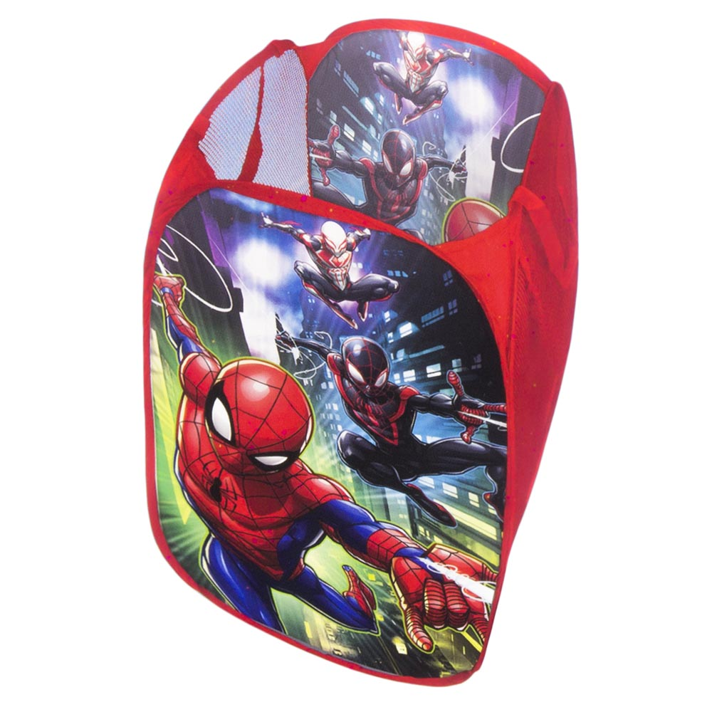 CESTO PORTA GIOCHI PORTATUTTO DISNEY MARVEL SPIDERMAN