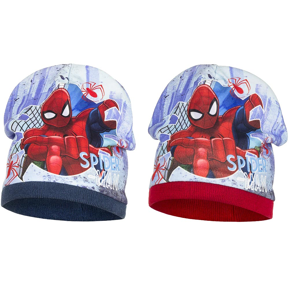 Fantastico CAPPELLO in Pile - MARVEL SPIDERMAN
