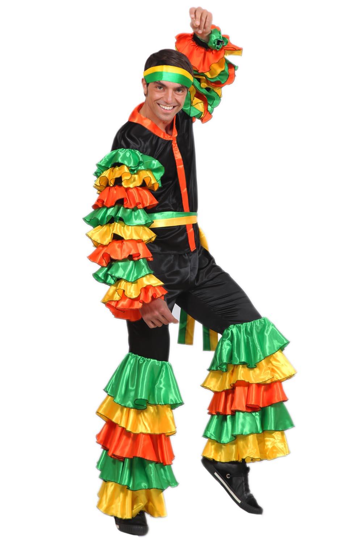 84d0d808dc VESTITO COSTUME Maschera di CARNEVALE - Adulti BRASILIANO | eBay