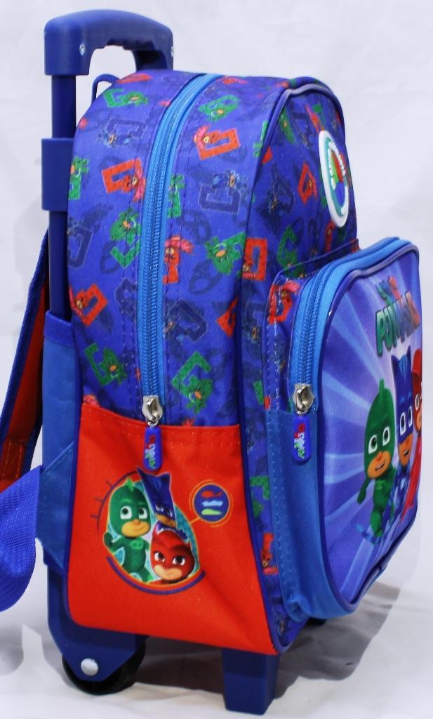a32d06a1902baf Zainetto Trolley Scuola Asilo PJ Masks - Super Pigiamini GATTO BOY GEKO  GUFETTA. codice: 59911