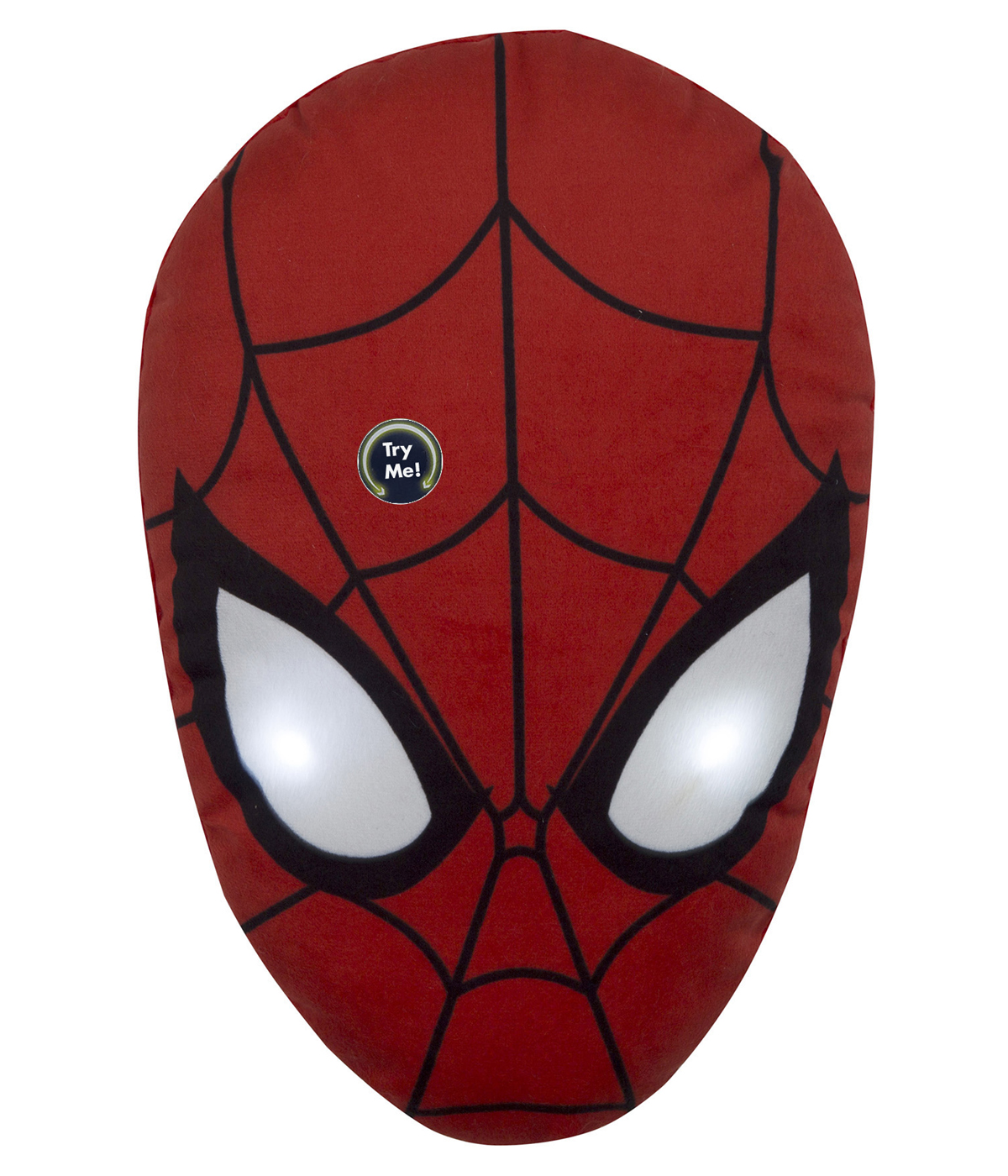 PLUSH PILLOW Shaped With LED MARVEL - SPIDERMAN