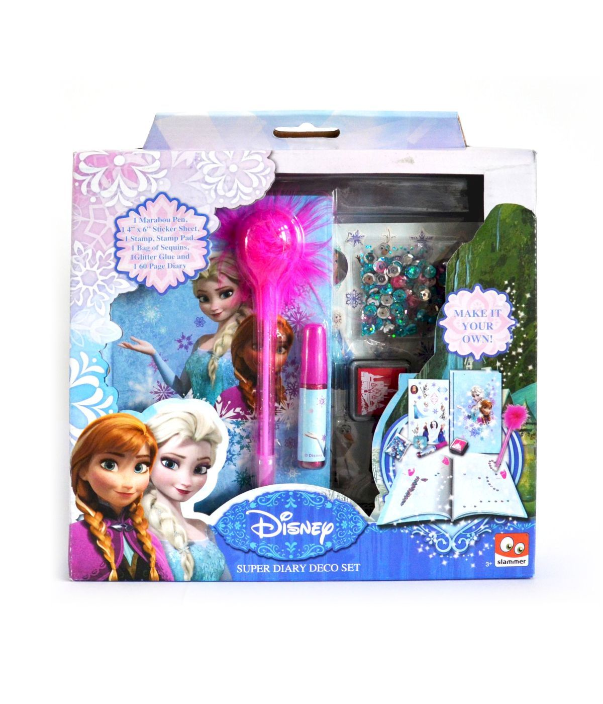 SET DIARIO DA DECORARE DISNEY FROZEN - MAKE YOUR OWN