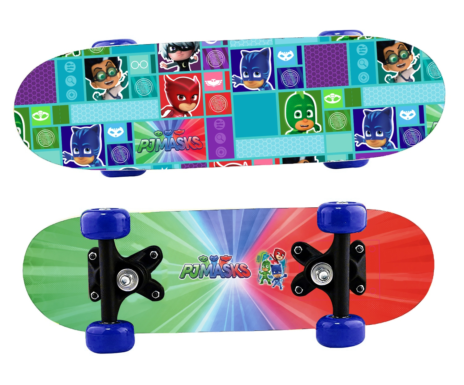 Skateboard Skate board IN LEGNO PJMASKS - SUPER PIGIAMINI