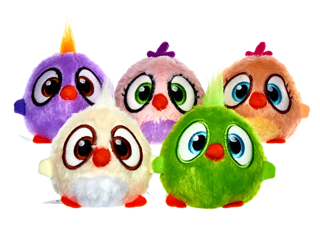 PELUCHE SONORO ANGRY BIRDS SLAMMERS - 8 cm