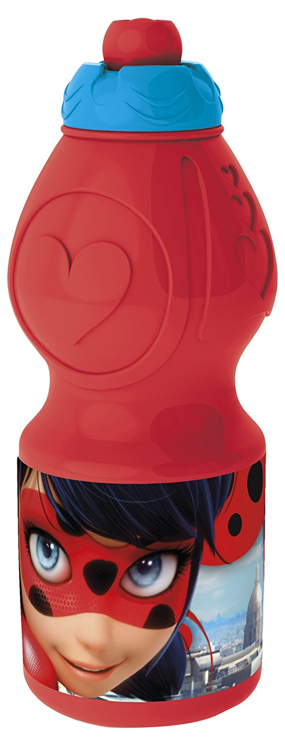 BORRACCIA in Plastica - MIRACULOUS LADYBUG - 400 ml