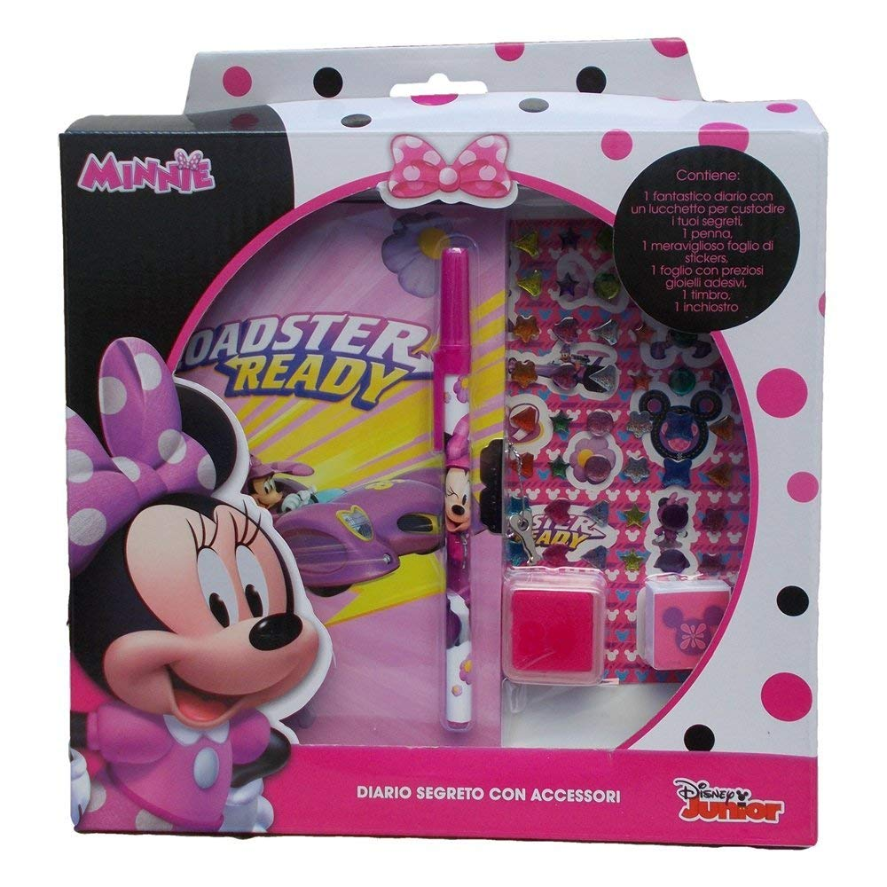 DIARIO SEGRETO con ACCESSORI DISNEY - MINNIE