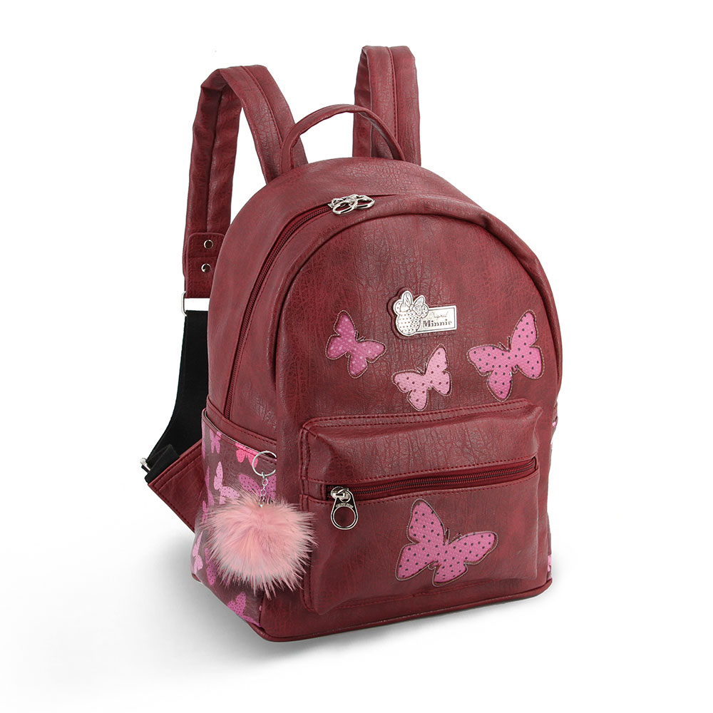 BORSA ZAINO in ECOPELLE - Disney Minnie -  Marfly