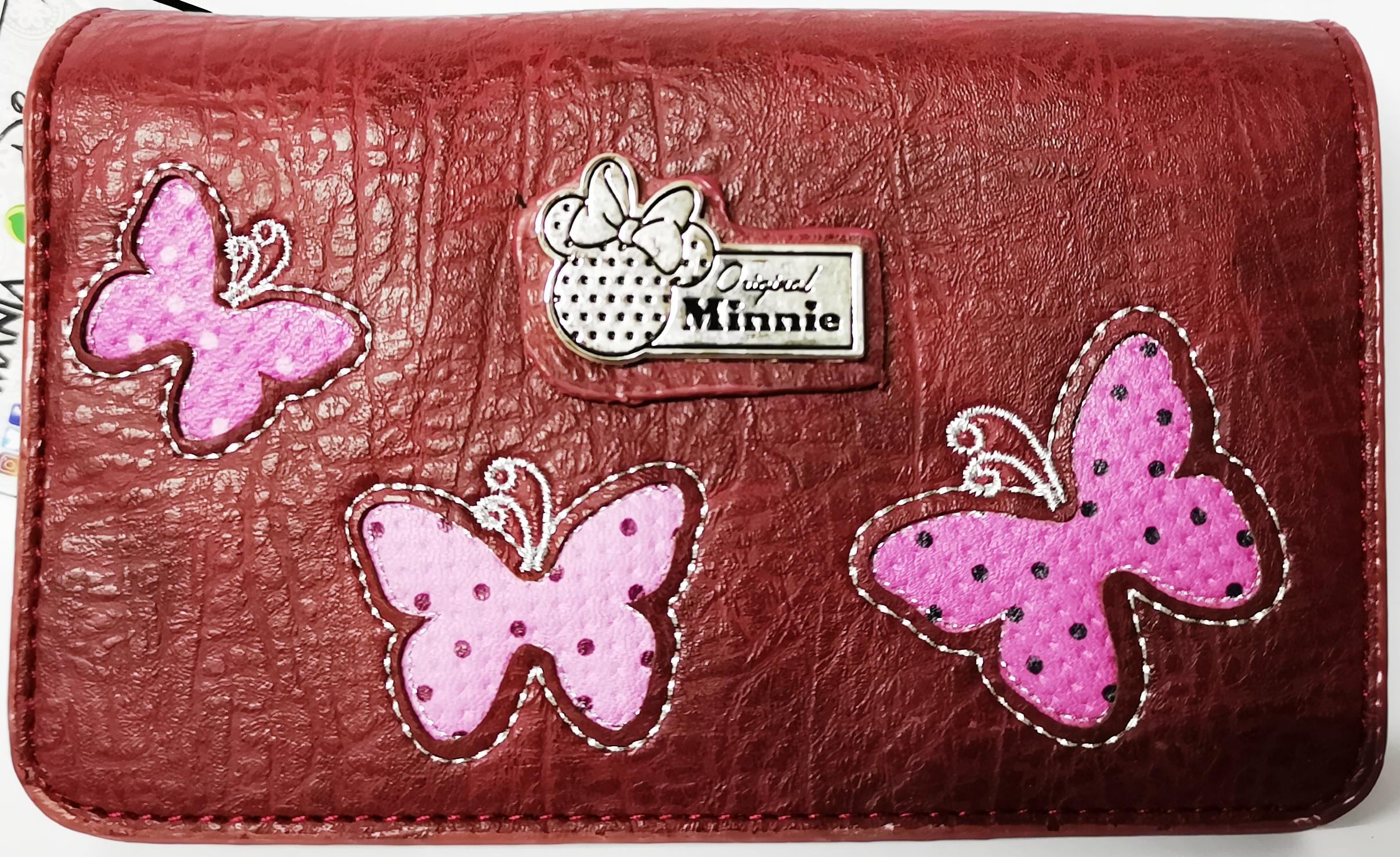 e0e6fc7264 BORSELLINO Portafoglio Portamonete DISNEY MINNIE - Marfly | eBay