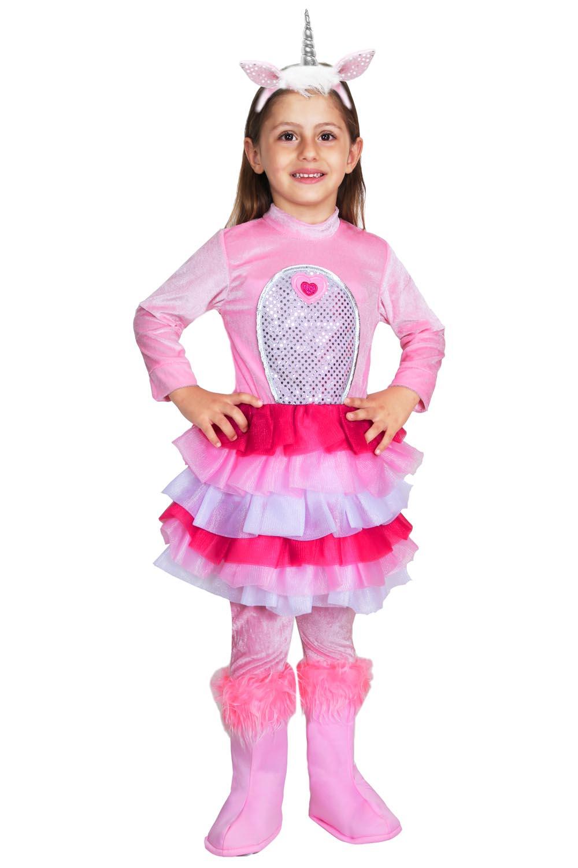 il più grande sconto vende 100% di soddisfazione Dettagli su VESTITO COSTUME Maschera di CARNEVALE - UNICORNO rosa
