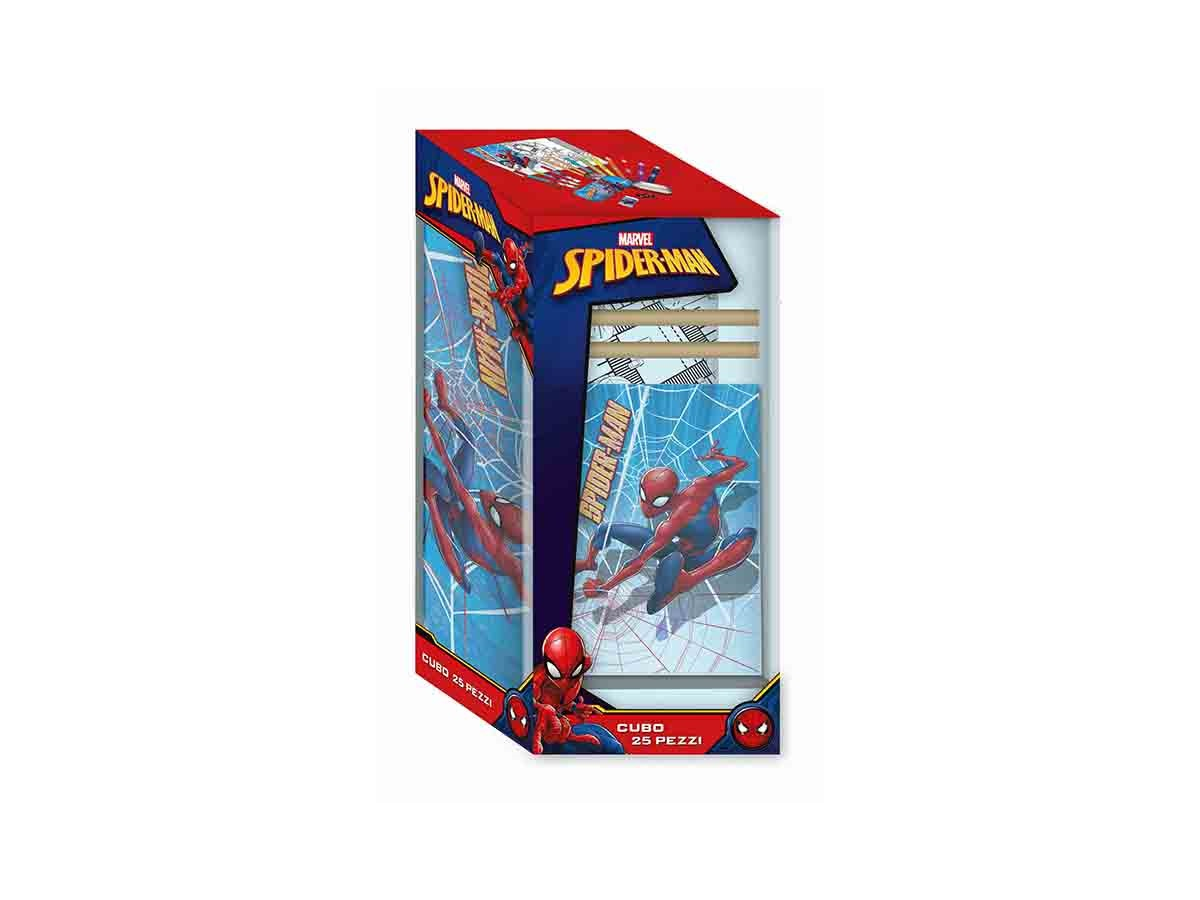 SET CANCELLERIA  25 PEZZI - MARVEL SPIDERMAN