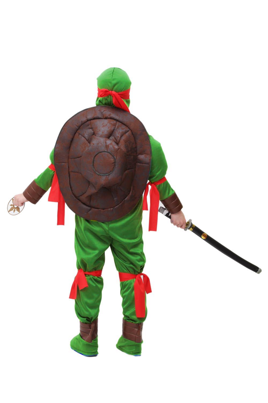 Vestito Costume Maschera Di Carnevale Tartaruga Ninja Ebay