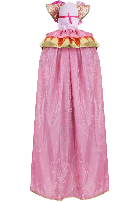 889da23cc798 ... VESTITO COSTUME Maschera di CARNEVALE Adulti DOMINO Veneziano rosa a