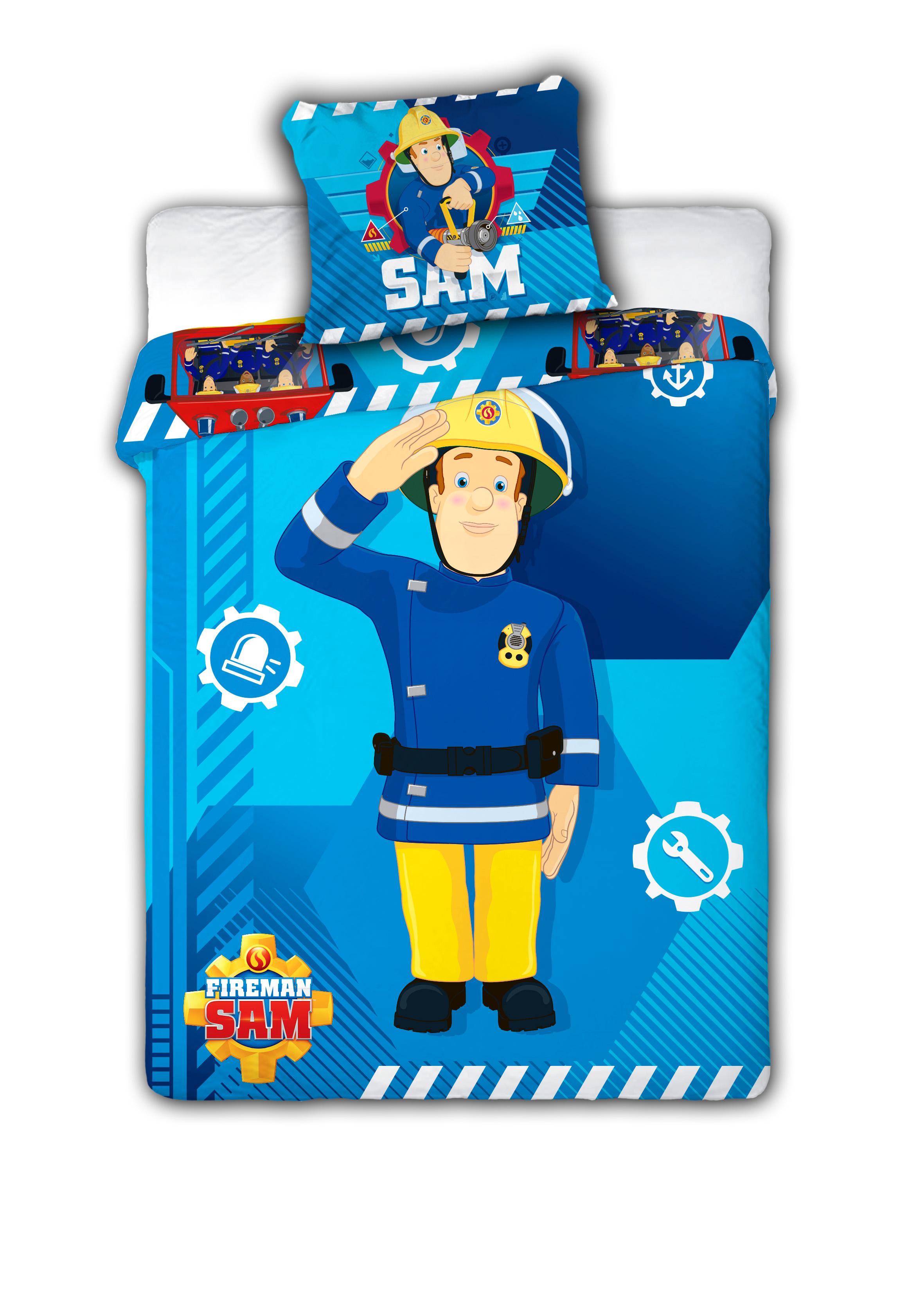 Lenzuola Letto Singolo Sam Il Pompiere.Dettagli Su Copripiumino Letto Fireman Sam Il Pompiere 100 X 135 Cm E Federa 40 X 60 Cm