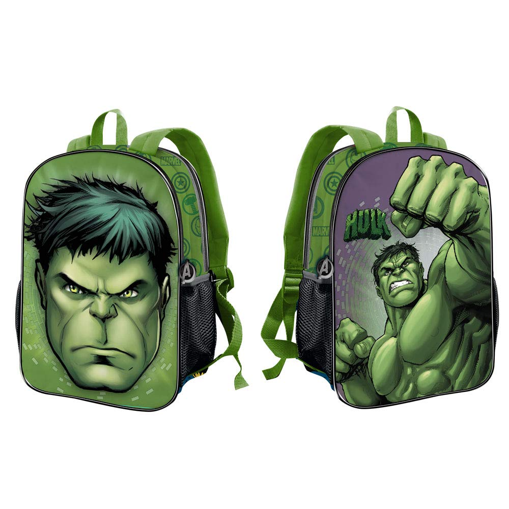 ZAINO Zainetto Reversibile - MARVEL HULK