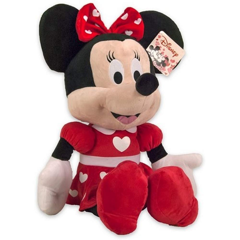 PELUCHE WALT DISNEY MINNIE HEARTS - 27 cm