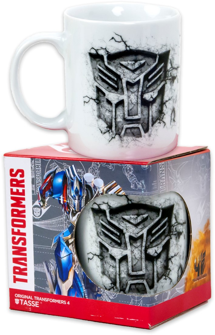 TAZZA CERAMICA con Scatola TRANSFORMERS - 250 ml