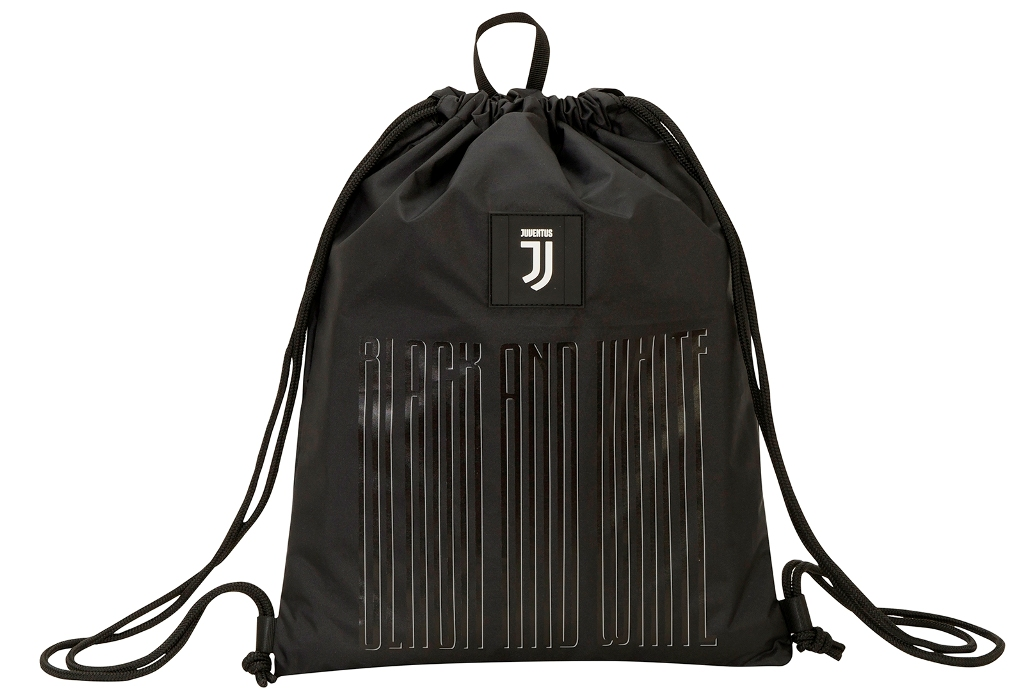Borsa SACCA SPORT - Sakky Bag Juventus Black and white - Ufficiale ed Originale
