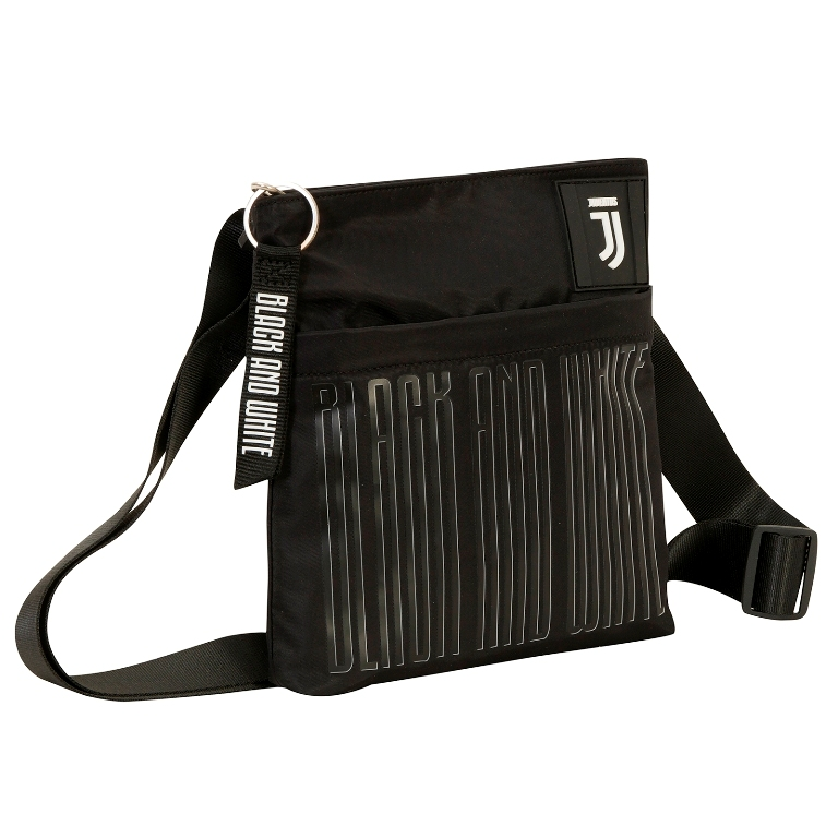 Tracolla Shoulder Bag JUVENTUS Black and white - Ufficiale ed Originale