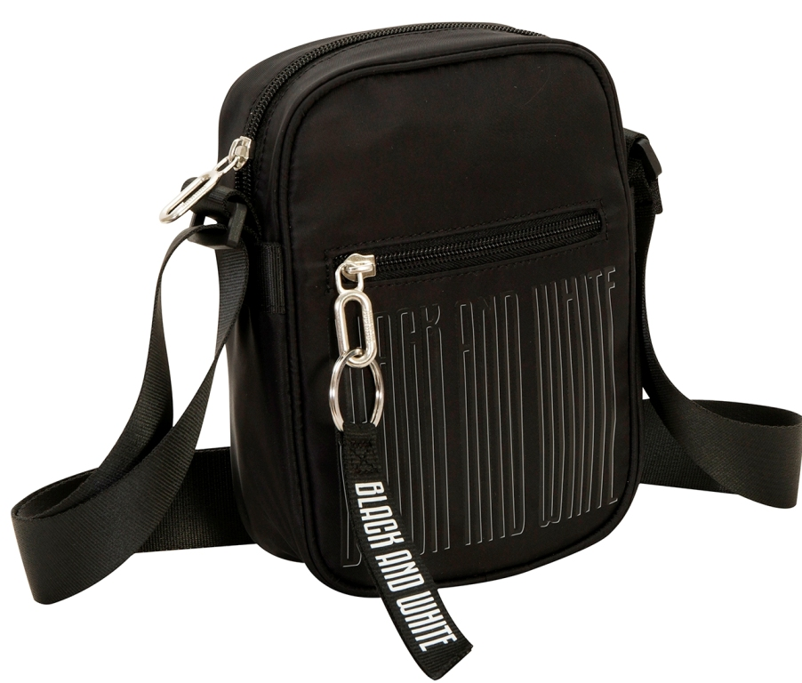 Tracolla Bag - JUVENTUS Black and white - Ufficiale ed Originale
